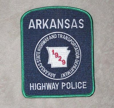 """Arkansas Highway Police Patch - 4"""" x 5"""""""