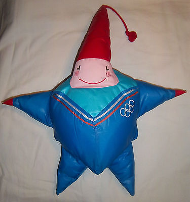 Orig.mascot  Olympic Winter Games ALBERTVILLE 1992 - MAGIQUE / 50 cm  !!  RARITY