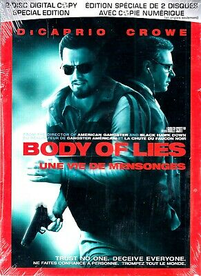 NEW 2DVD SET // Body of Lies - RIDLEY SCOTT - Leonardo DiCaprio, Russell Crowe