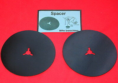 ++ New ++ 2 Rubberised Spacer  For Reel To Reel Recorders ++New ++