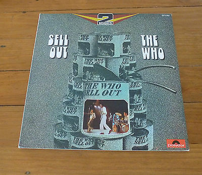 Doppel LP - The Who - Sell Out - Polydor 2675 089 - France 1974 M-/VG