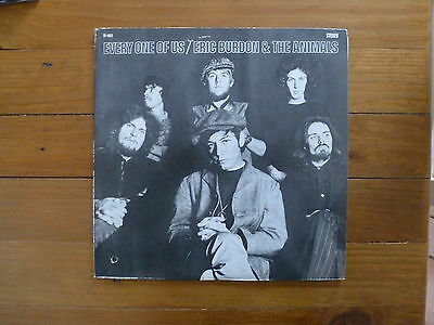LP Eric Burdon and the Animals - Every one of us - 1968 - USA MGM SE-4553