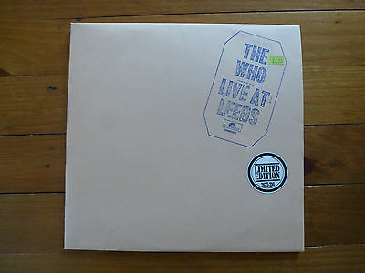 LP Limited Edition - The Who live at Leeds - 1970 - Polydor 2480004 / 2675216