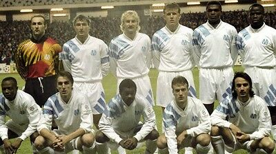 Marseille (France) Home Football Shirt XL 1993