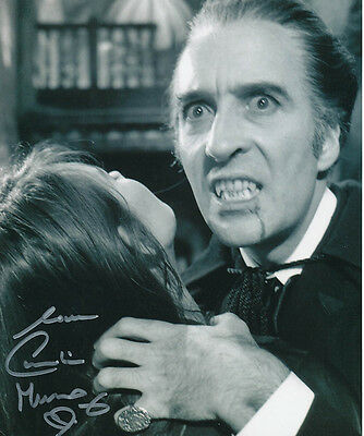 Caroline Munro SIGNED photo - J858 - Dracula A.D. 1972