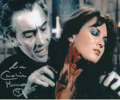 Caroline Munro SIGNED photo - J859 - Dracula A.D. 1972