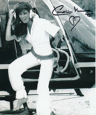 Caroline Munro SIGNED photo - J863 - James Bond