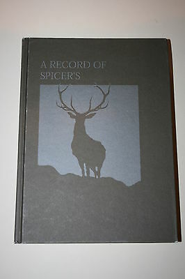 A RECORD OF SPICERS by Rob Chinnery...Taxidermy... Book..Stuffed..Taxidermist