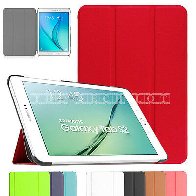 "Samsung Galaxy Tablet Stand Case Cover For Tab E 9.6"" T560 T561 S2 T810 A T580"