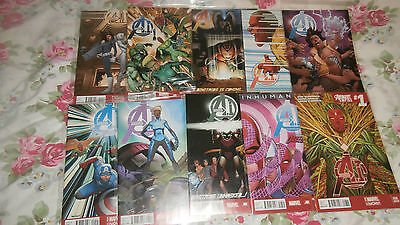 Avengers A.I. set 1-10 Marvel Comics *very good condition*