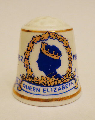 thimble queen Elizabeth 40th anniversary of the accession to the throne 1952-