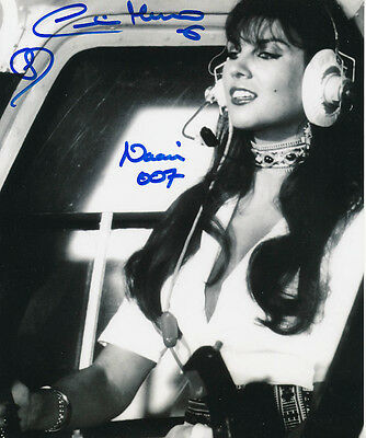Caroline Munro SIGNED photo - J865 - James Bond