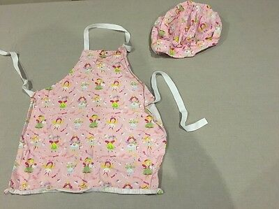 Girls Apron Set (cook Smart) 4-7 Years Approx
