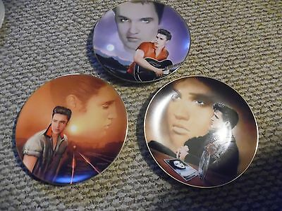 Nine Elvis Presley Hit Parade Collection Plates from Delphi