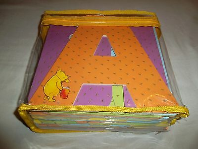 Winnie the Pooh Book  Winnie the Pooh Alphabet Book A-Z Letters with storage bag