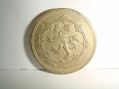 Rare £1 Coin 1994 Scottish Lion Rampant, One Pound, Low Mintage Free Postage