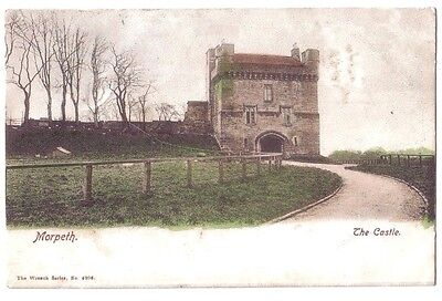 Morpeth The Castle OLD POSTCARD 1903