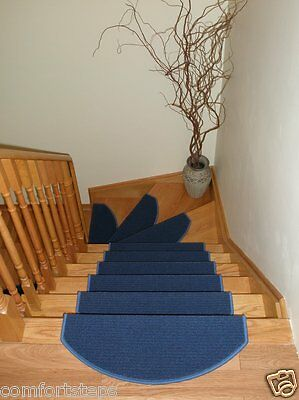 Set of 13 Beautiful Carpet Stair Mat |Stair Rugs Treads made in Europe