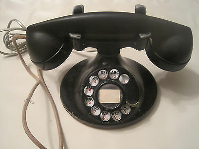 Western Electric rotary dial oval base antique telephone