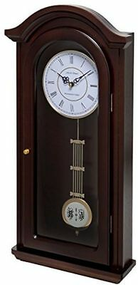 Pendulum Wall Clock Wood Westminster Chimes Vintage Antique Style New Home