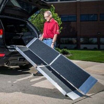 EZ Access Trifold Non Skid 5 Foot Portable Ramp