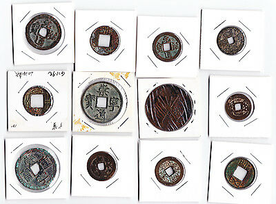 Ancient Chinese Coins, Mostly From Song Dynasty (960 AD -1279 AD)