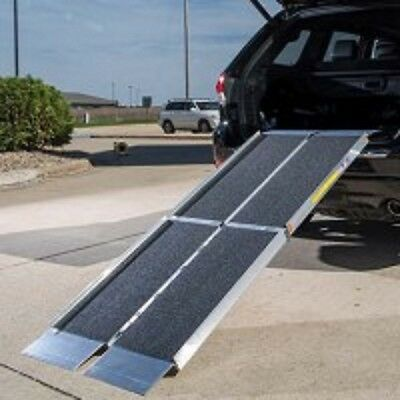 EZ Access Trifold Non Skid 7Foot Portable Ramp