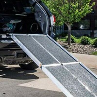 EZ Access Trifold Non Skid 8 Foot Portable Ramp