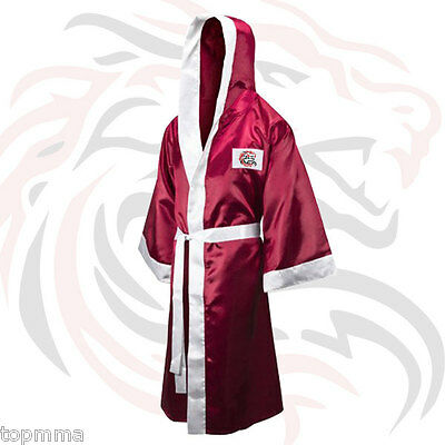 Boxing Robe Boxing Gown Boxing Costume Boxing Walkout Robe Full Length with Hood