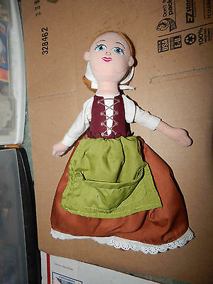 "Rodgers & Hammerstein's CINDERELLA on BROADWAY 12"" TOPSY TURVY Doll  RARE"