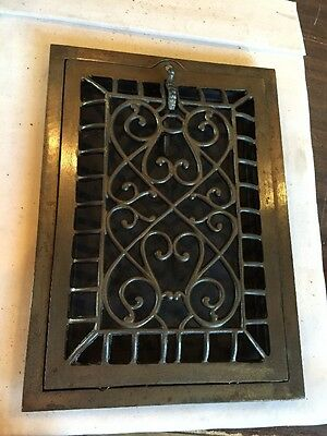 Antique Heating Gratecast-Iron Wiry Ornate Design Tc 60