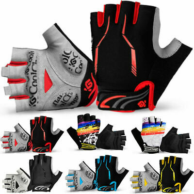 CoolChange Cycling Bicycle Bike Gloves Sports Racing Riding Half Finger Gloves