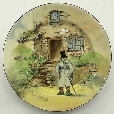 Royal Doulton Collector Plate Gaffers