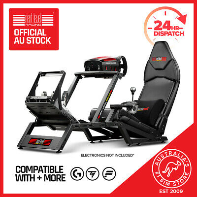 Next Level Racing  F1 GT Formula 1 & GT Simulator Cockpit Gaming Chair PS4 Xbox