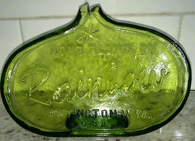 Rainbow Glass Company 1960's Advertising display sign