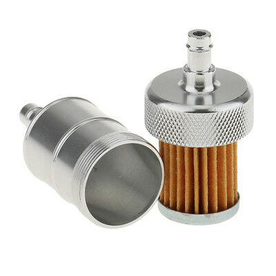 Motorcycle Fuel Gas Filter for 1/4'' 6mm Fuel Line Hose