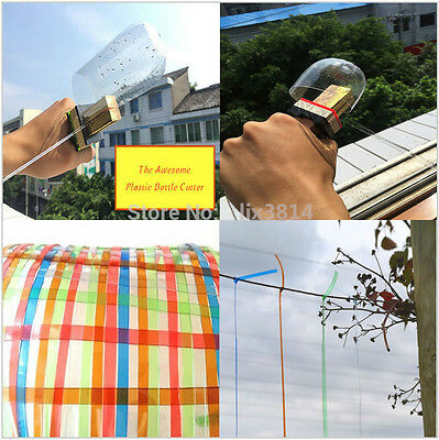 Outdoor DIY Creative Plastic Bottle Rope Cutter Tool for Home&Garden Decoration