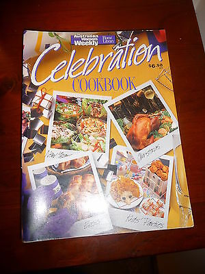 Womens Weekly Celebration Cookbook New Year, Christmas, Easter, Kids Parties EUC