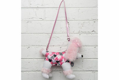 White Puppy Dog Handbag/Strap Shoulder Bag Plush Toy Kids Children Girl Child