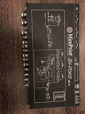 Mindprint Envoice MKII MK2 Advance Recording Devices (made In Germany)