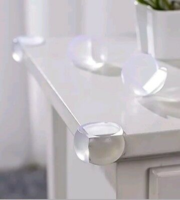 Baby Child Kids Safe Bumper Protector 12 Clear Table Corner Guard Furniture (B1S