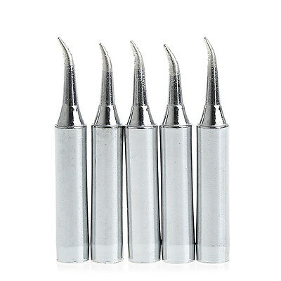 5Pcs 900M-T-IS Lead Free Solder Iron Tips for Hakko Soldering Rework Station New