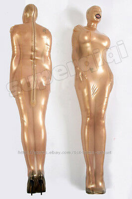 Latex Rubber Gummi 0.45mm Sleep Sack Sleeping Bag Bodybag Catsuit Overall Mask