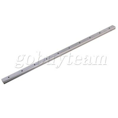 2pcs Silver 400mm MGN15 Linear Bearing Slide Rail with MGN15C Sliding Block