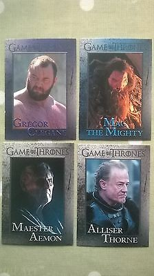 Game of Thrones Trading Cards.  Set B.