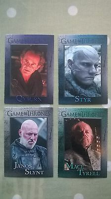 Game of Thrones Trading Cards.  Set C.