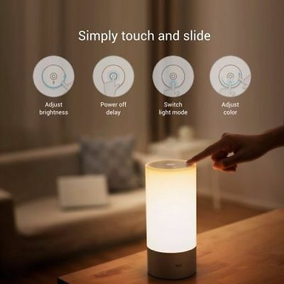 Original Xiaomi Yeelight Bedside Lamp RGB Wireless Touch Control Night Light