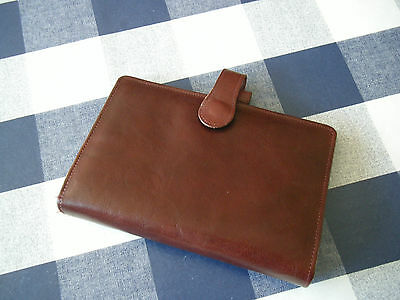 Filofax style STILL WATERS 1997 BEE GEES LEATHER ORGANISER  PERSONAL