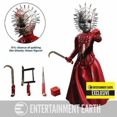 NEW! MEZCO TOYZ The Living Dead Dolls Hellraiser III Pinhead Red Variant Limited