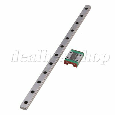 30CM MGN12 Guide Rail Sliding Rail with Block for Precise Measure Set